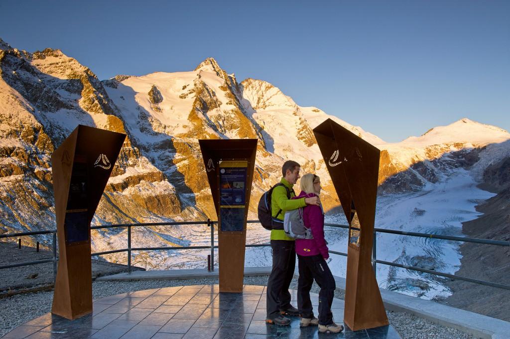 Am Großglockner startet der 750km lange Alpe-Adria-Trail. Foto: Franz Gerdl - Kärnten-Werbung