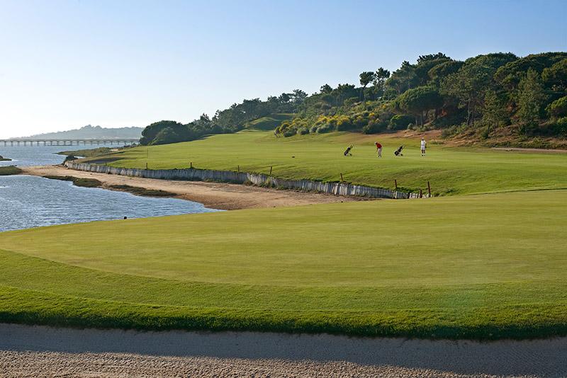 Der Golfplatz San Lorenzo in Quinta do Lago.