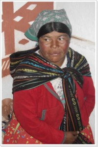 Rarámuri-Frau