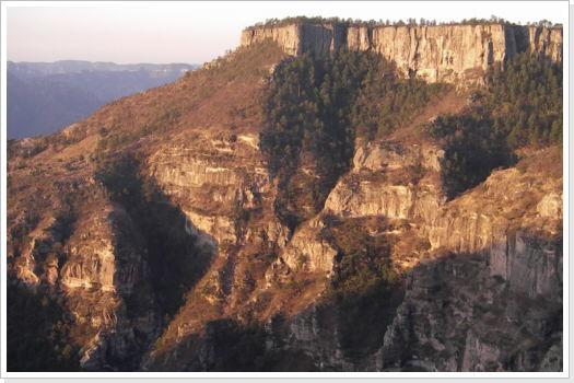 Der Kupfer-Canyon im Norden Mexikos ist die Heimat der Rarámuris.