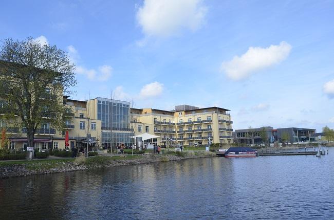 Resort Mark Brandenburg in Neuruppin, direkt am See. Fotos: KonTakT-Press Forster