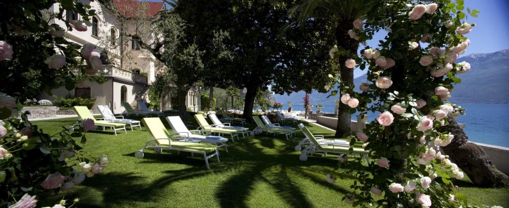 Die romantische Wohlfühloase Villa Giulia liegt direkt am Gardasee