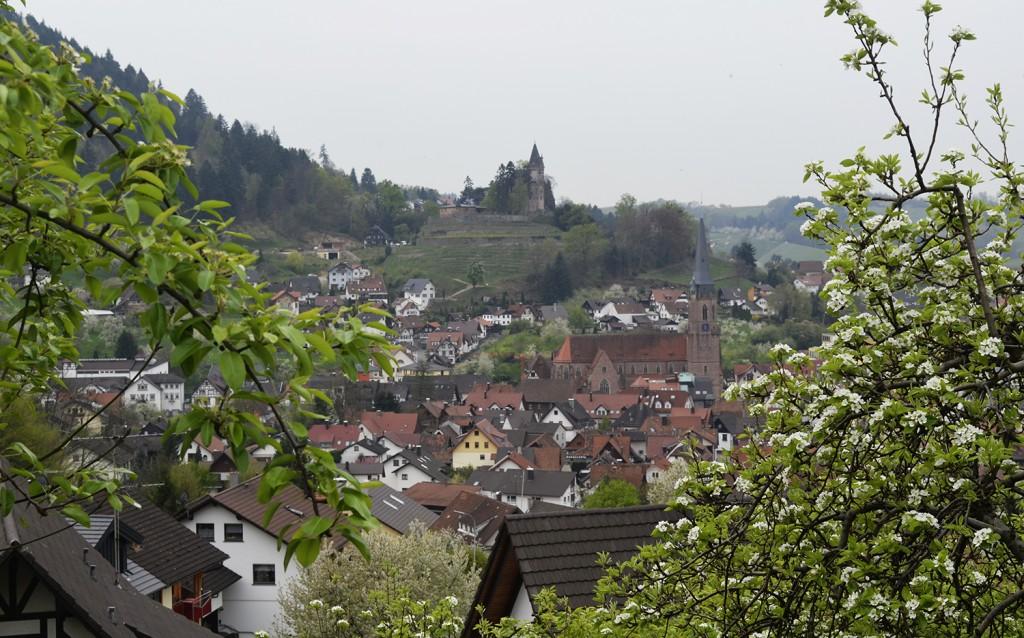Kappelrodeck, Blick vom Dasenstein