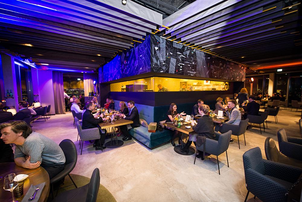Das Skykitchen Restaurant im Hotel andels
