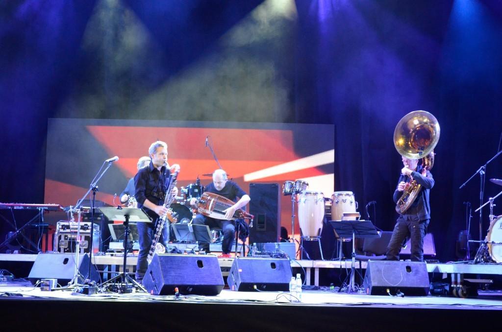 Jazz-Festival am 30.4.2016 in der Jahrhunderthalle.