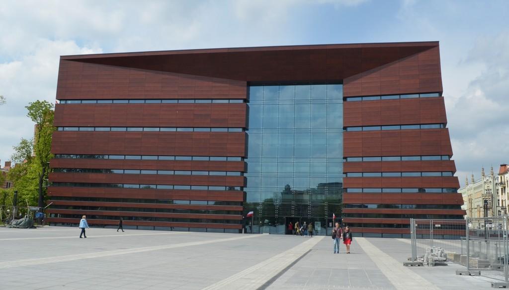 Das Nationale Musikforum wurde im September 2015 eröffnet.